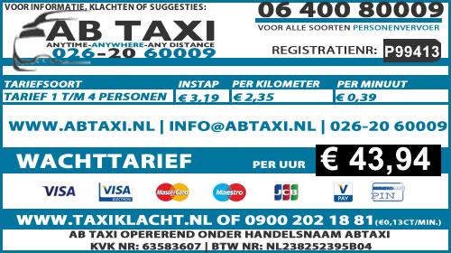 Taxi Arnhem Schiphol | Airportservice