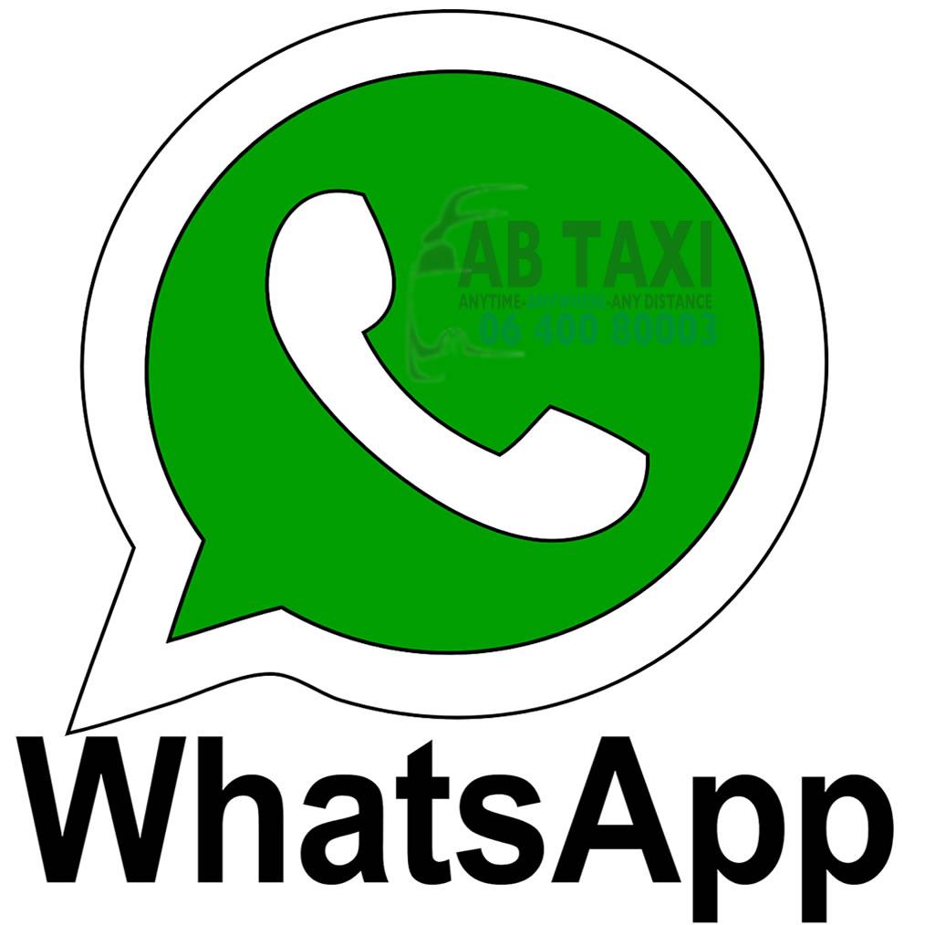 Taxi Bestellen met WhatsApp